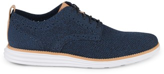 Cole Haan Textured Lace-Up Sneakers