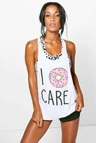 Boohoo Anna FIT Doughnut Care Running Vest
