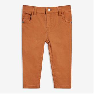 Joe Fresh Baby Boys' Five-Pocket Denim, Dark Bronze (Size 12-18)