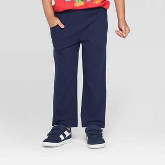 Cat & Jack Toddler Boys' Light Weight Pull-On Pants Navy