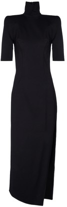 ATTICO Eva high-neck stretch-jersey midi dress