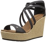 Volcom Women's Getting Around Espadrille Wedge Sandal