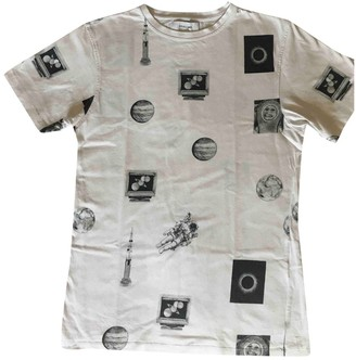 Soulland White Cotton Top for Women
