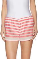 Lemlem Women's Selina Cotton Striped Short
