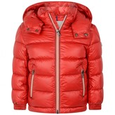 Moncler MonclerRed Down Padded New Gaston Coat