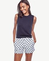 Ann Taylor Petite Fan City Shorts