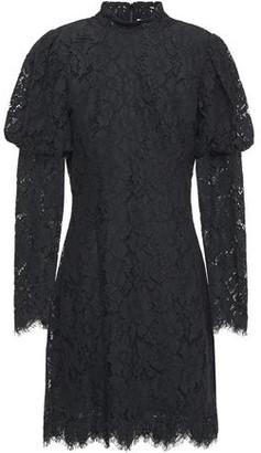 Ganni Corded Lace Mini Dress