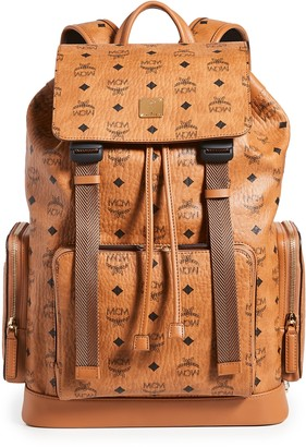MCM Brandenburg Visetos Backpack