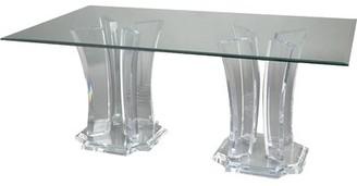 Canora Grey Tenaya Double Base Dining Table
