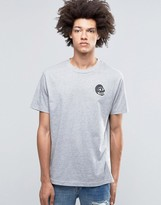 Cheap Monday Fantastic T-Shirt Skull Small Gray