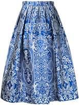 Mary Katrantzou Bowles jacquard midi skirt