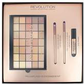 Makeup Revolution Makeup Rev Pro Amplified 35 Eyeshadow Palette Naked Golds
