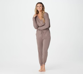 Anybody AnyBody Regular Cozy Knit Long-Sleeve Jumpsuit