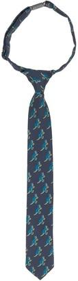 Paul Smith pre-fastened dinosaur print tie