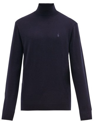 Polo Ralph Lauren Merino-wool Roll-neck Sweater - Mens - Navy