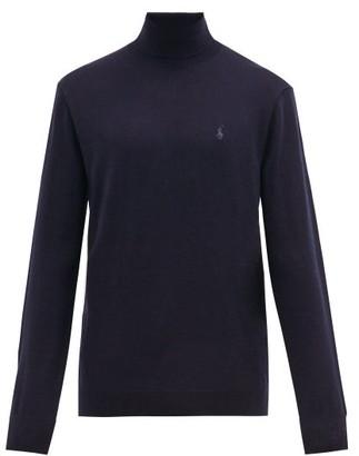Polo Ralph Lauren Merino-wool Roll-neck Sweater - Navy
