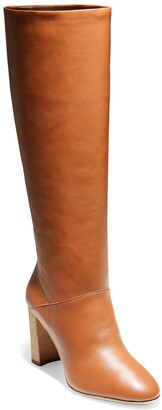 Cole Haan Glenda Leather Knee High Boot