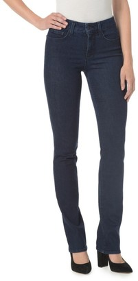 NYDJ Marilyn Mid-Rise Straight Jeans