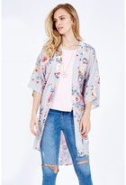 Select Fashion Fashion Botanic Floral Kimono Soft Jackets - size 6