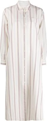 Max Mara Striped Shirt Dress