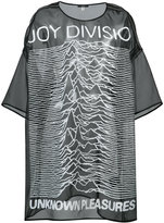 R 13 Joy Division long top - women - Silk Organza - One Size