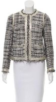 Tory Burch Embellished Bouclé Knit Jacket
