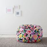 MayBaby Fresh Cut Floral Beanbag, Large Slipcover