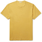 James Perse Combed Cotton-jersey T-shirt - Yellow