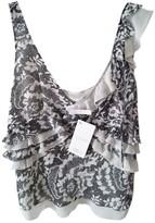Escada White Silk Top for Women