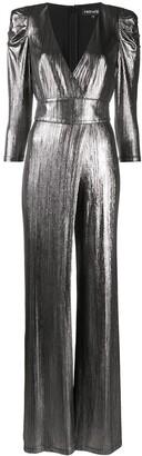 retrofete Monroe metallic sheen jumpsuit