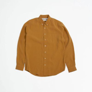 Schnaydermans Schnayderman's - Shirt Boxy Popover Mustard - S