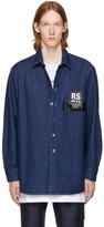 Raf Simons Navy Denim Shirt