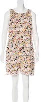 Diane von Furstenberg Tiered Silk Dress