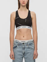 Joyrich Script Repeat Sports Bra and Shorts Set