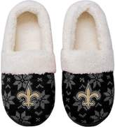 Unbranded Women's New Orleans Saints Ugly Knit Moccasin Slippers