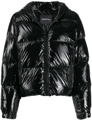 Duvetica Bellatrix short puffer jacket