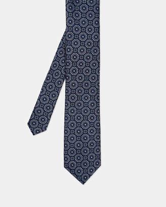 Ted Baker TAMAS Tile motif silk tie