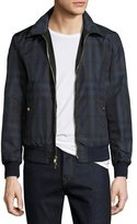 Burberry Carlford Reversible Technical Bomber Jacket, Navy
