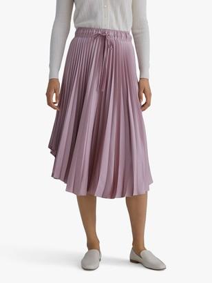 Club Monaco Pleated Midi Skirt, Purple