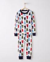 Hanna Andersson Ferdinand Long John Pajamas In Organic Cotton