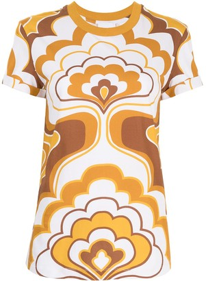 Alice McCall Lava Lamp cotton T-shirt