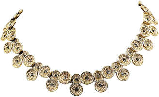 One Kings Lane Vintage 1960s Marboux Rhinestone Collar Necklace - Carrie's Couture