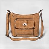 Bolo Women's Crossbody Handbag - Saddle Brown