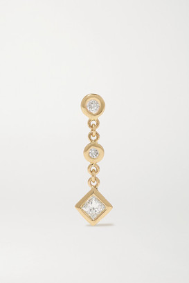 Jacquie Aiche 14-karat Gold Diamond Earring - one size