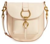 Frye Ilana Leather Saddle Bag - Brown