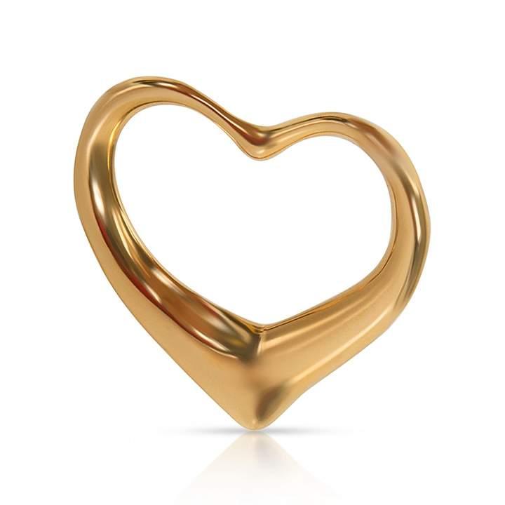 Tiffany & Co. Elsa Peretti yellow gold pendant