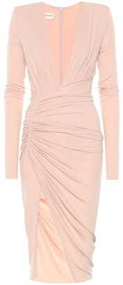Alexandre Vauthier Stretch-crepe dress