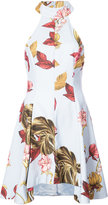 C/Meo floral embroidered dress