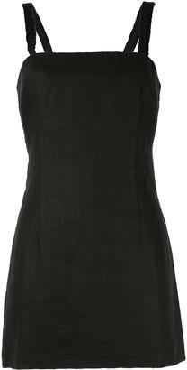 Venroy tie back mini dress