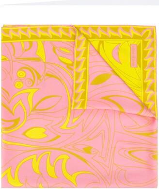 Emilio Pucci Dinamica Degrade print scarf